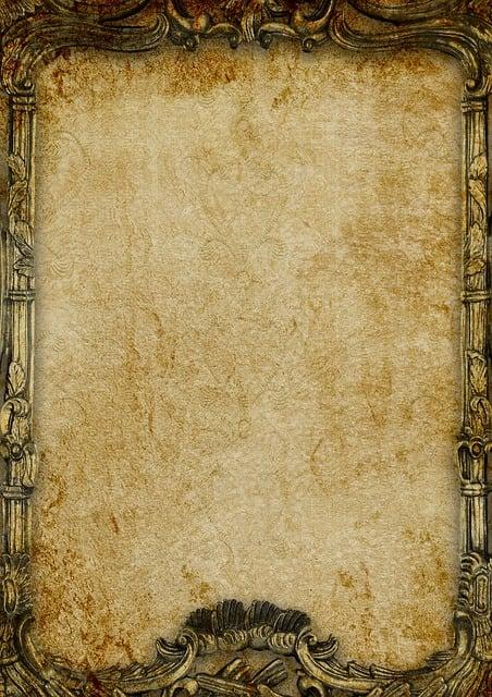 Vintage, Frame, Background, Paper, Scrapbook