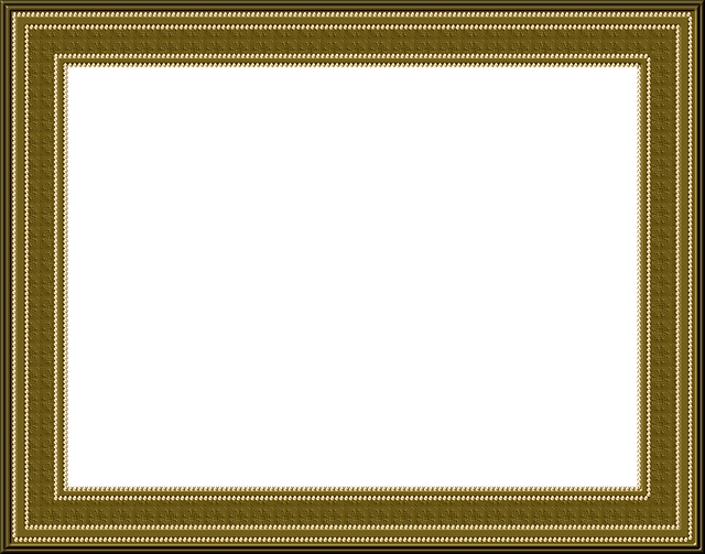 Picture Frame, Frame, Outline, Brown, Beads, Texture