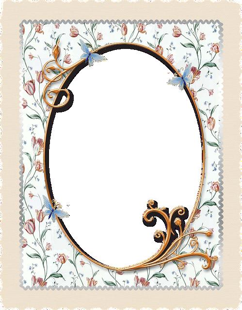 Background, Scrapbooking, White, Frame, Flower, Swirl