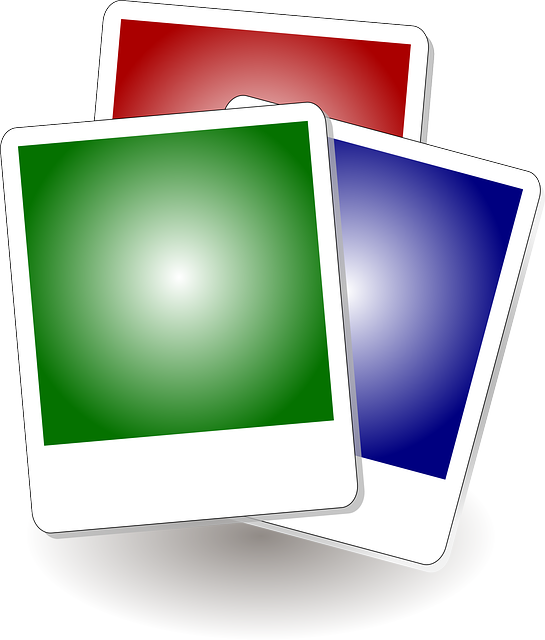 Frames, Colorful, Squares, White Borders, Green, Blue