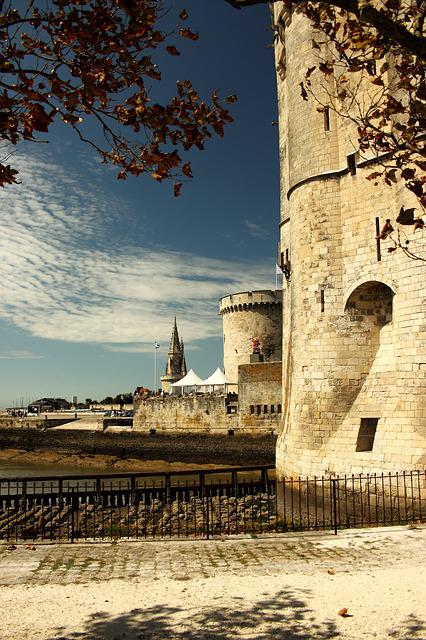 La Rochelle, Tower, France, Architecture, Old Town