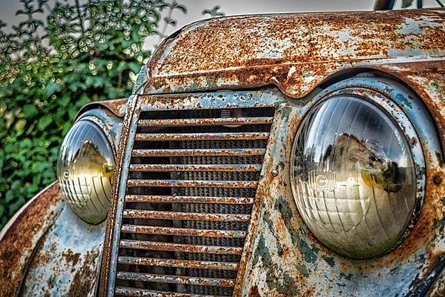 Auto, Front, Spotlight, Pkw, Renault, Classic, France