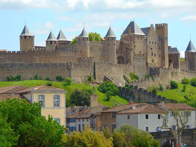 Castle, Carcassonne, France, Tourism