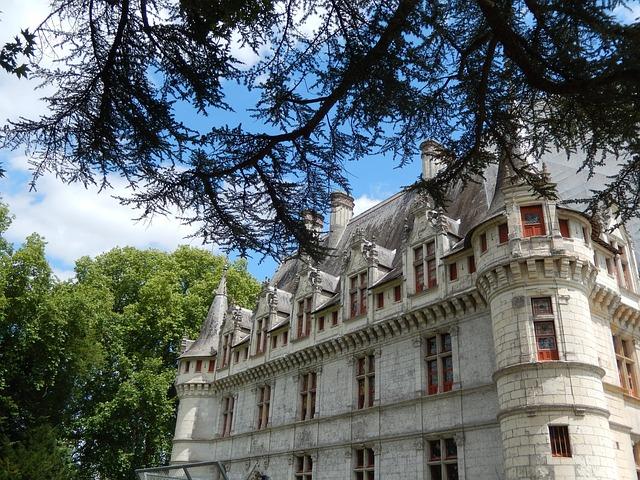 Château D'ussé, Royal Castle, Castle, France