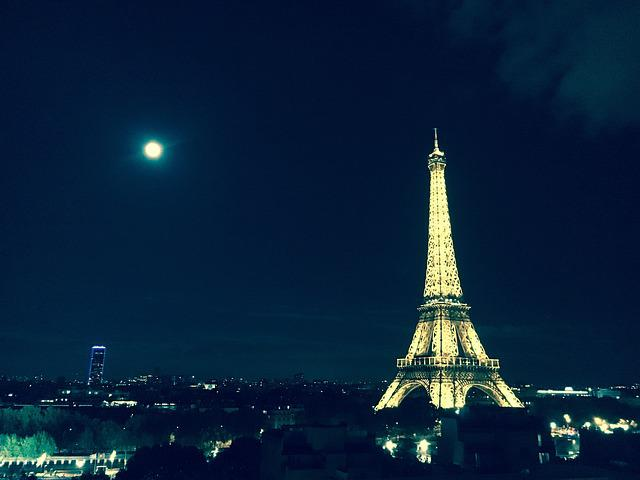 Eiffel Tower, Paris, Monument, France, Capital, City