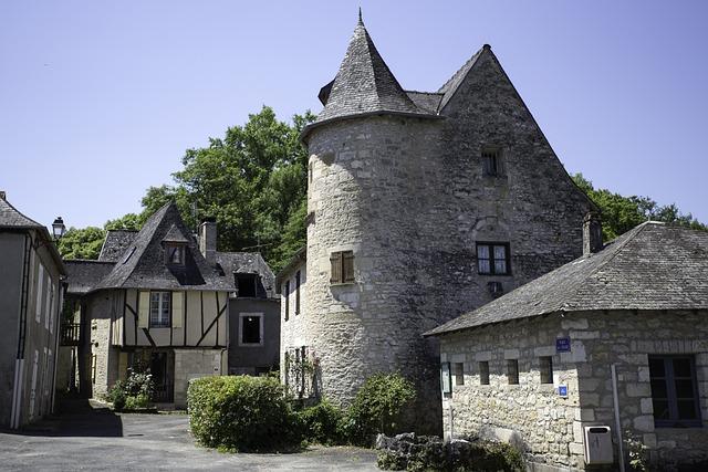 Condat-sur-vézère, Dordogne, Périgord, France