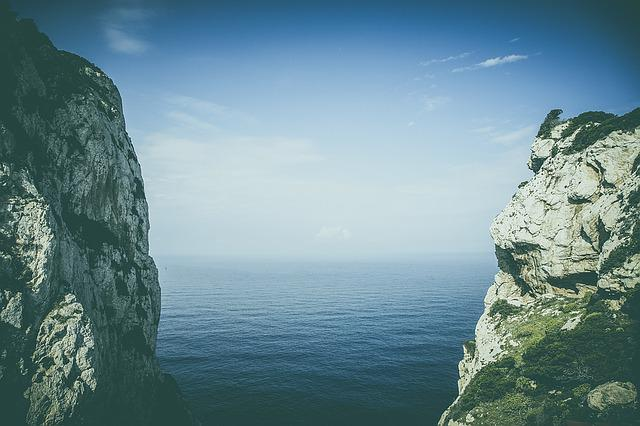 Corsica, Sea, France, Nature, Outlook, Water, Cliff