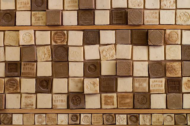 Soap, Handmade, France, Cubes, Soap-boiling