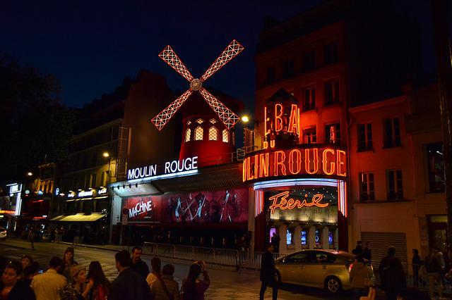 Moulin Rouge, Dance Studio, France, Paris