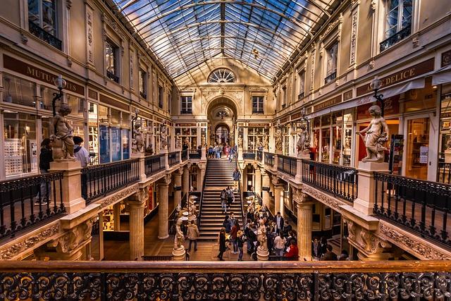 Nantes, Department Stores, France, Colors, Prospect