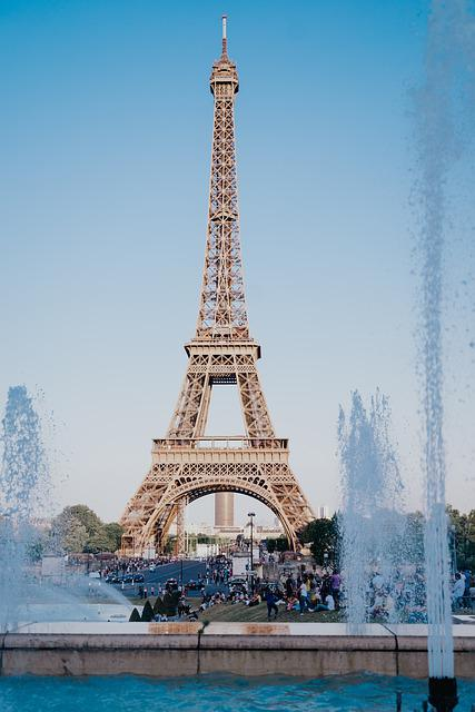 Paris, Eiffel Tower, France, Architecture, Landmark