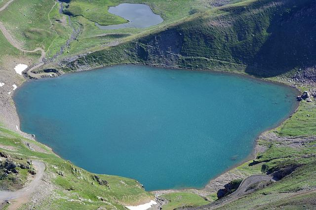 Lake, Mountain, Pyrénées, High Mountain, Nature, France