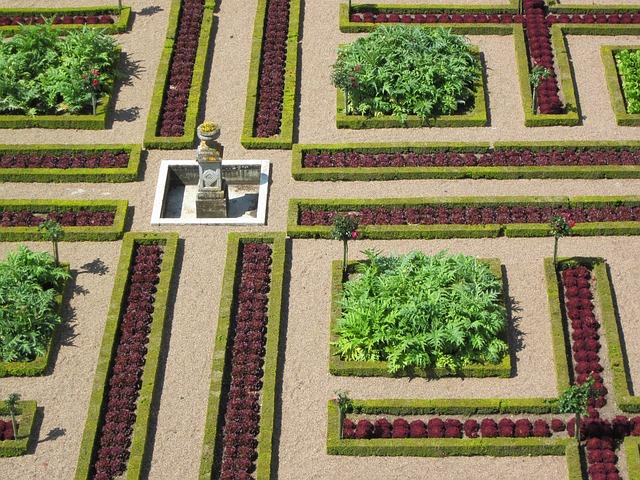 Free photo France French Loire Villandry Chateau Garden - Max Pixel
