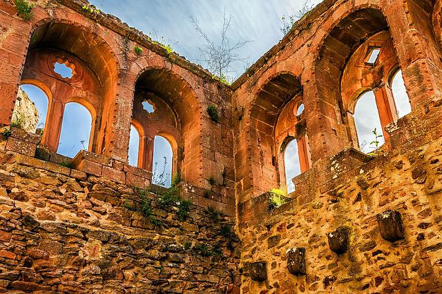 Ruin, Castle, Middle Ages, Knight's Castle, France