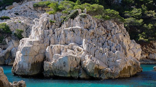 France, Marseille, Calanques, Sea, Mediterranean