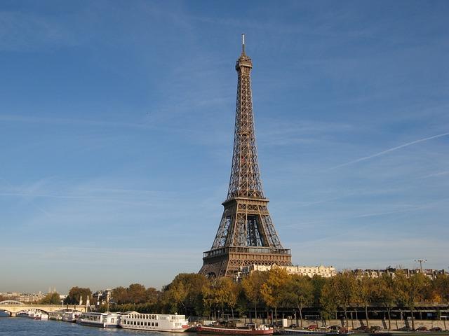 Eiffel Tower, Heritage, Monument, Paris, France