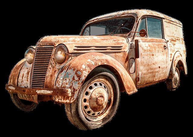 Auto, Renault Juvaquatre, France, Pkw, Transporter, Old