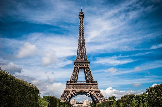 Eiffel Tower, France, Paris, Landscape, Architecture