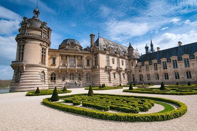 Chateau, Chantilly, Picardy, France, Renaissance