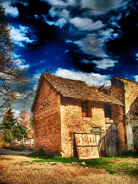 Saint Marcel Bel Accueil, France, Building, Barn, Shed