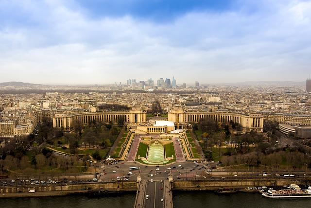 Skyline, Buildings, Cityscape, Paris, France