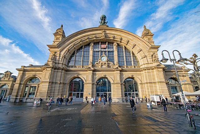 Frankfurt, Hesse, Germany, Central Station