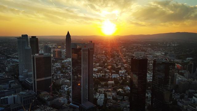Frankfurt, City, Frankfurt Am Main Germany, Skyscraper
