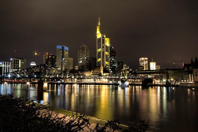 Frankfurt, Skyline, N, Architecture, Frankfurt Main