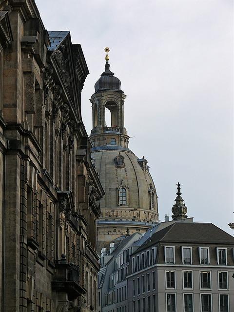 Frauenkirche, Dresden, Architecture