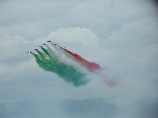 Frecce Tricolori, Aircraft, Aerobatic Team