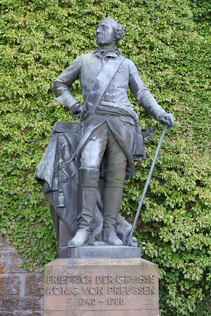 Frederick The Great, Prussia, Statue, Fig, King