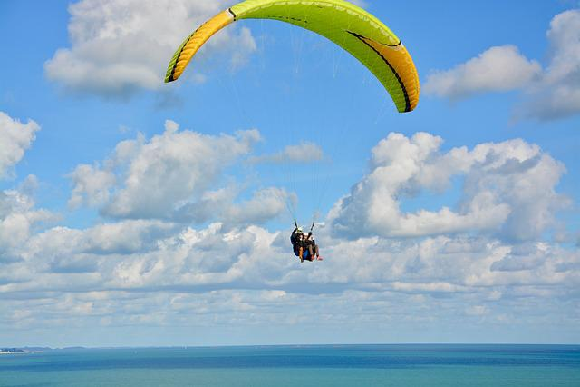 Paragliding, Paraglider, Free Flight