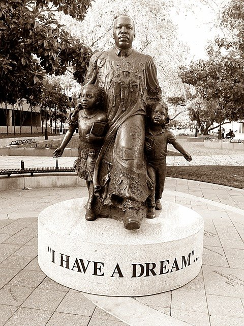 Martin Luther King Jr, Dream, American, Freedom
