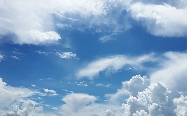 Sky, Clouds, Atmosphere, Air, Oxygen, Freedom, Sky Blue