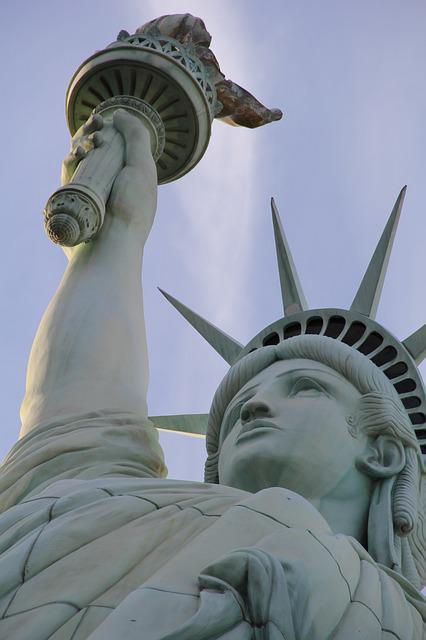 Statue Of Liberty, Statue, Liberty, Usa, Freedom