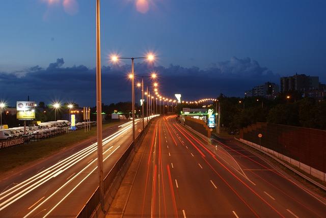 Freeway, Transport, Gas Station