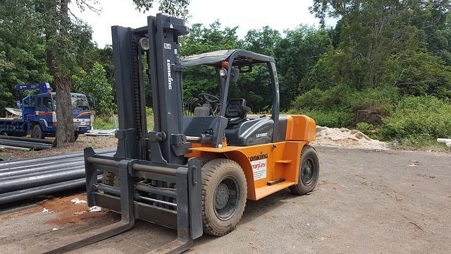 Forklift, Industry, Vehicle, Shipment, Freight