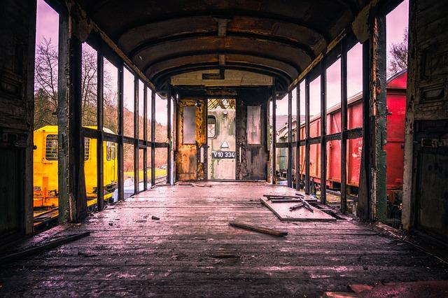 Wagon, Freight Train, Transport, Train, Railway