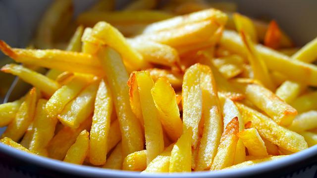 French Fries, Potatoes, Food, Snack, Tasty, French, Fat
