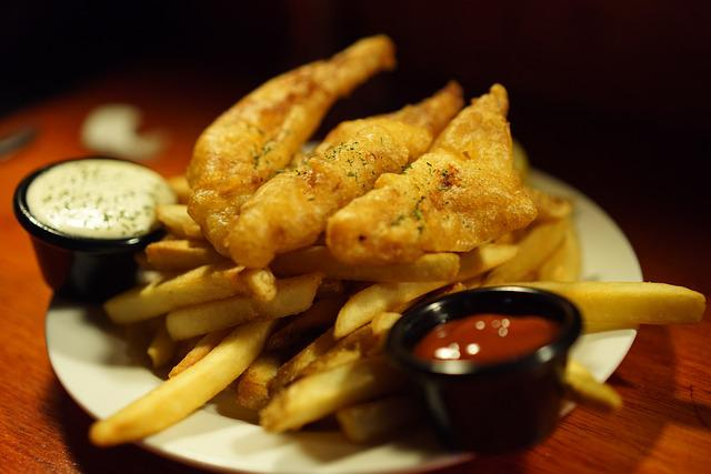 Fish And Chips, French Fries, After French Fries