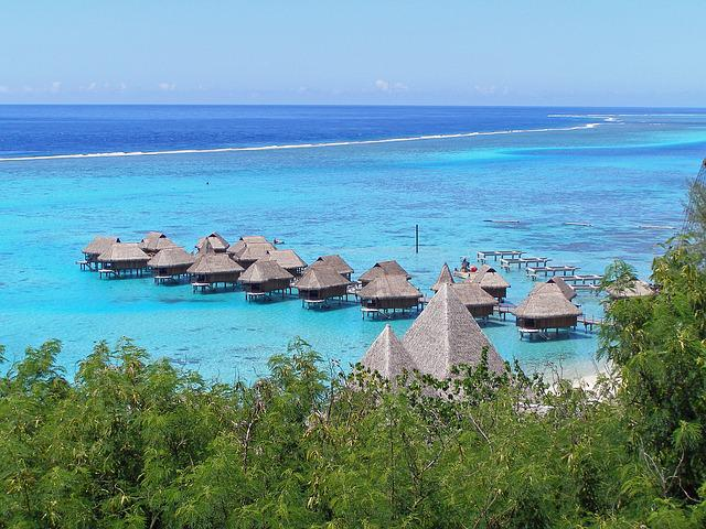 Moorea, French, Polynesia, Island, Tropical, Lagoon