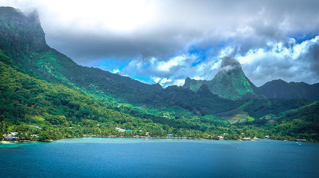 Moorea, French Polynesia, Tropical, Island, Pacific