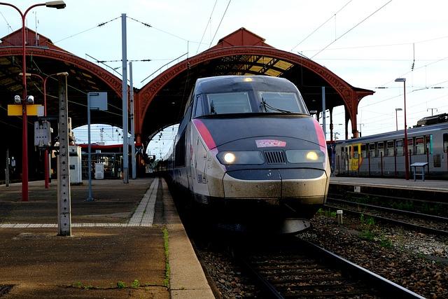 Tgv 1, Railway, French, High Speed, Remote Traffic