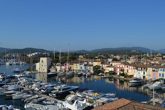 Port-grimaud, French Riviera, Mediterranean, France
