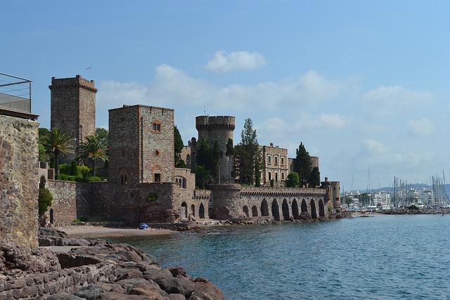 Mandelieu-la-napoule, French Riviera, Mediterranean