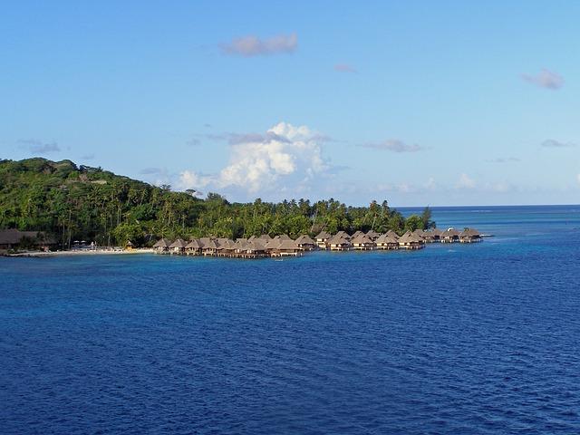Bora Bora, French, Polynesia, Society, Island, Tropical