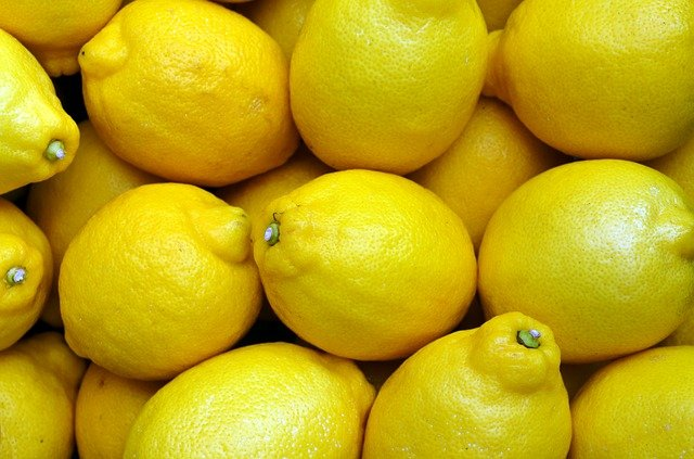 Lemons, Yellow, Food, Fruit, Fresh, Citrus, Organic