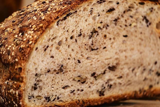 Bread, Multigrain Bread, Bread Crust, Crispy, Fresh