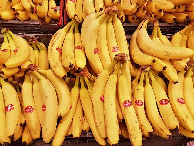 Banana, Food, Healthy, Eating, Meal, Fresh, Dinner