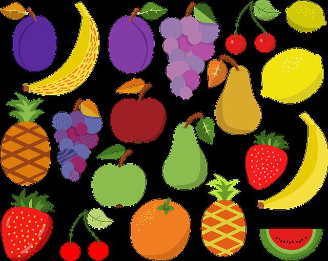 Fruit, Apple, Banana, Trees, Farm, Green, Fresh, Garden